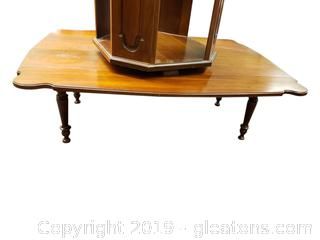 "Vtg. ""Tell City Company"" Drop Leaf Coffee Table"
