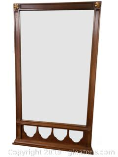 Mid Centry Wall/Dresser Unique Mirror