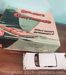 Vtg. Remote Controlled Scale Model Automobile