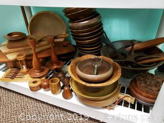 Wood Shelf Lot