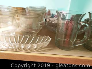 Vtg Glass Lot