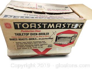 Vtg. Toastmaster Table Top Oven
