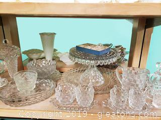 "Glass Lot Of ""American Whitehall"" Glass"