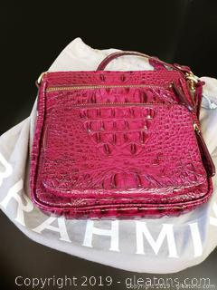 Brahmin Crossbody Handbag With Bag