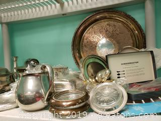 Silver Plated Lot