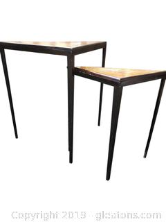 Triangular Nesting Tables