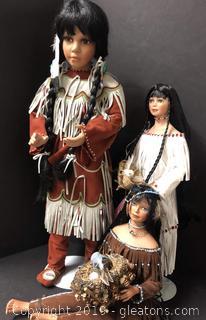 Lovely Porcelain Dolls