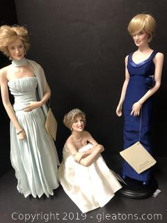 Amazing Porcelain Doll Collection