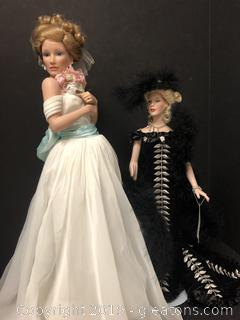 Beautiful Porcelain Doll Collection