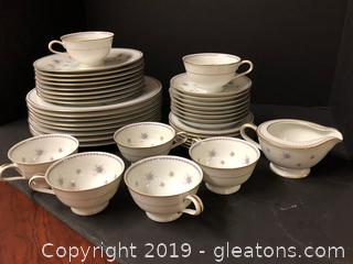 Amazing Set Of China Noritake China Pat. Design Melita