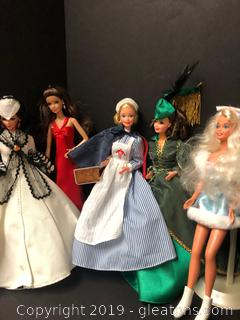 Nice Barbie Collection
