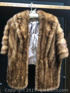 Gorgeous Mink Fur Cape