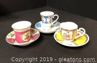 Lot Of Vintage Tea Cups