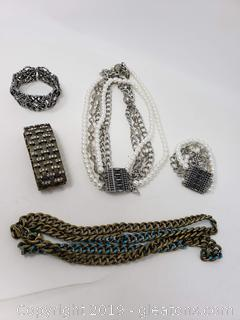 Lot Of Designer Costume Jewelry