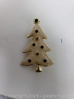 Christmas Tree Eisenberg Ice Pin