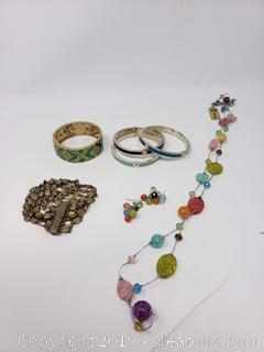 "Sets Of ""Premier"" Designer Costume Jewelry"