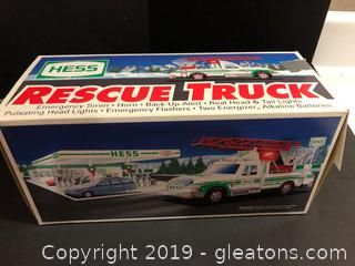 Hess Rescue Truck