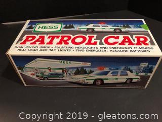 Hess Patrol Car
