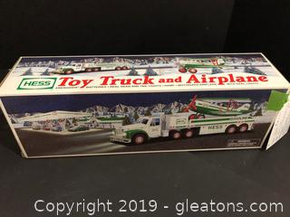 Hess Toy Gas Truck + Airplane