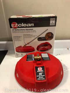"EZ Clean 15"" Surface Cleaner Attachment"