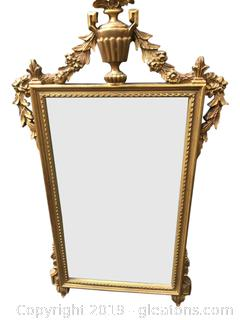 Gold Guilter Mirror