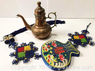 Middle Eastern Brass Coffee