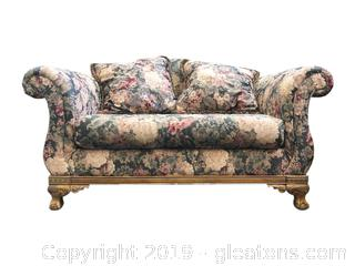 Nice Ball and Claw Sofa and Love Seat