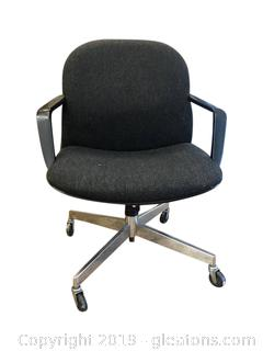 Adjustable Office Chair, Has Turn Base And Will Adjust Back