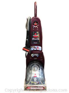 Bissell 12 amp 2xs Brushes With Dual Dirt Lifter And Proheat 2 x and pet Carpet Cleaner