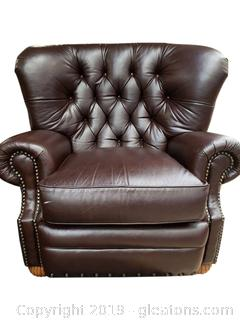 """Bradington Young"" (A) Large Leather Recliner"