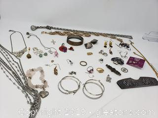 Lot Of Vtg. Costume Jewelry