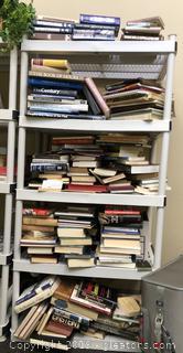 Huge Whole Shelf Lot Hardback Books