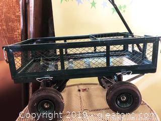 Garden Cart Hard Working Man Machine