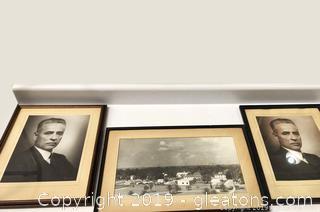 Set Of 3 Vintage Photos