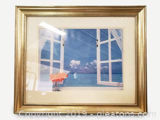 Beautiful Ocean Breeze Framed Art