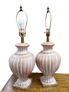 PR Of Beautiful Table Lamps
