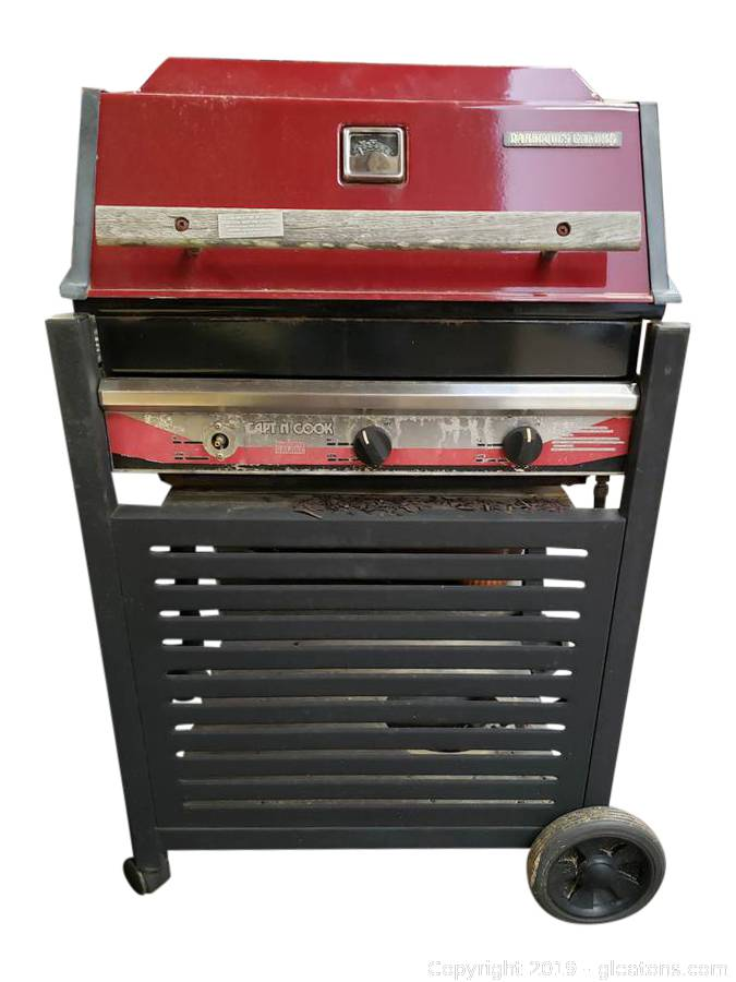 Gleaton's, Metro Atlanta Auction Company, Estate Sale & Business  Marketplace - Auction: Designer Downsizing from Marietta ITEM: Capt'n Cook  Barbeques Propane Gas Grill Galore Outdoor