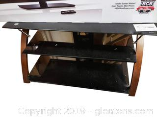 Tempered Glass (3) Tier TV Stand