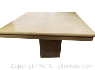 Small Square Polished (B) Sealed Concrete Side Table