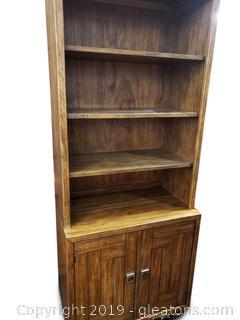 """(2) Piece """"Drexel"""" Heritage Bookshelf"""