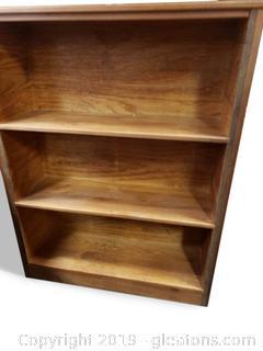 Small Wooden Farmhouse Bookshelf
