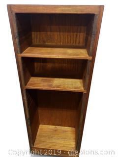 Small Book Shelf Rustic Farmhouse