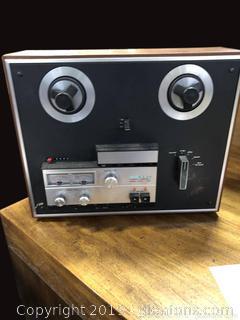 Vintage Stereo Tape Deck
