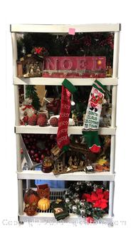 Five Shelves High Christmas Lot
