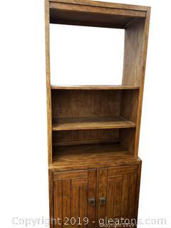 "(2) Piece ""Drexel"" Heritage (A) Bookshelf"