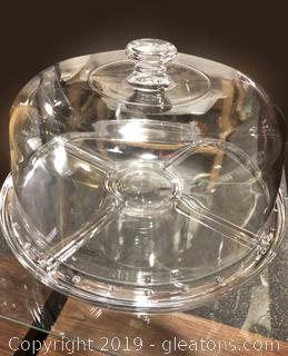 Glass Plate Cake