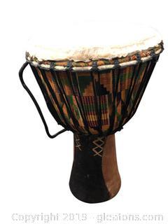 Unique Handmade African Drum