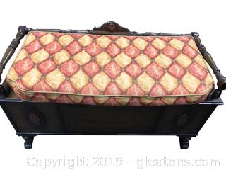 Cedar Chest With padded Seat