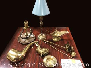 Brass Lot