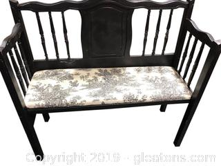 Small Entry/Hall Bench Settee